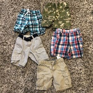 18M Boys shorts bundle